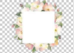 矩形与鲜花