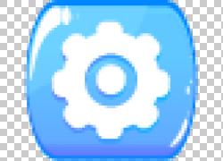 蓝色设置图标设计图片