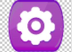 紫色设置按钮设计图片