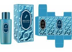 化妆品蓝色包装设计