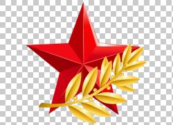 金色树枝五角星党徽图片