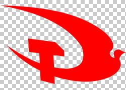 飞鸟锤头党徽设计图片