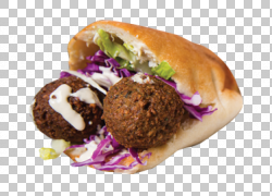 肉丸子沙拉三明治图片