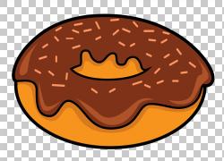 卡通巧克力甜甜圈图片