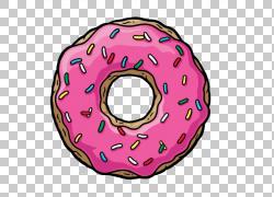 卡通甜甜圈图片