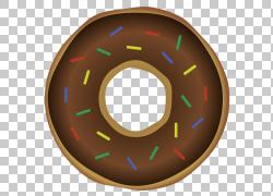 巧克力甜甜圈图片