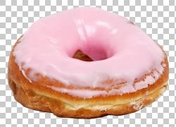 草莓口味甜甜圈图片