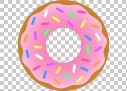 扁平化甜甜圈图片