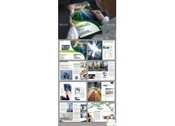 大气企业画册模板设计