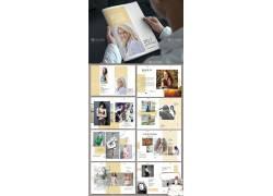 小清新欧式服装产品宣传册