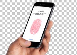 苹果手机指纹设置图片