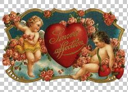 情人节基督教词典古董,创意情人节海报PNG剪贴画爱,心,复古服装,r图片