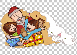 圣诞老人圣诞节礼物,圣诞老人提出PNG clipart功能区,儿童,食品,图片