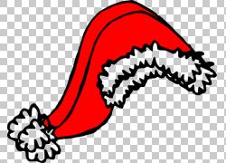 圣诞老人圣诞老人衣服圣诞帽,圣诞老人帽子Gif PNG剪贴画帽子,文图片