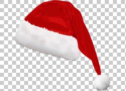 圣诞老人圣诞老人西装帽子,并使用圣诞帽,圣诞老人帽子PNG剪贴画图片