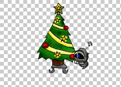 圣诞树圣诞节装饰品冷杉,出现日历PNG clipart圣诞节装饰,虚构人图片