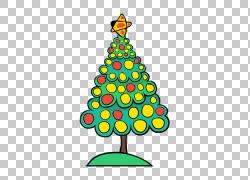 圣诞树圣诞节装饰品冷杉,圣诞节前夕PNG剪贴画叶,假期,装潢,圣诞图片