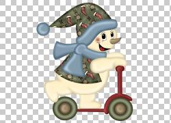 圣诞雪人围巾,跑步机雪人PNG剪贴画杂项,儿童,冬季,帽子,自行车,