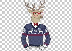 驯鹿时髦圣诞节圣诞老人图片