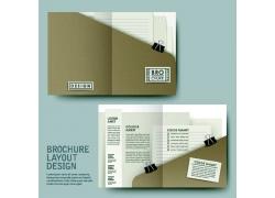 折页封面设计模板图片