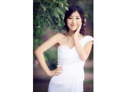 清纯新娘美女