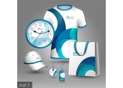 梦幻蓝色VI设计