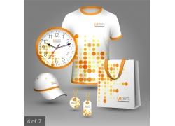 橙色圆点VI设计