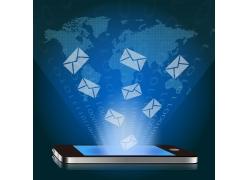 手机邮件网络素材