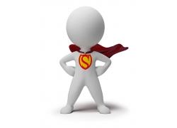 3D小人超人