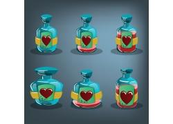心形瓶子游戏图标图片