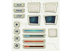 游戏界面设计元素图片