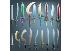 游戏刀剑用具素材图片