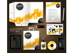 企业vi设计模板手提袋素材