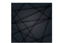 几何图形黑色背景