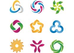 创意螺旋logo设计