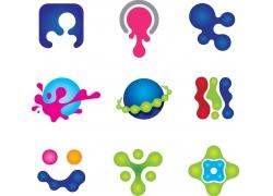 创意液体logo设计