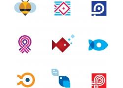 创意鱼logo设计
