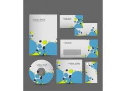 圆形vi设计模板