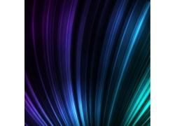 蓝色动感线条背景