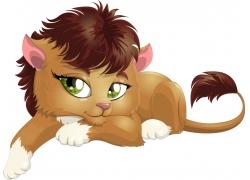 可爱卡通狮子图片