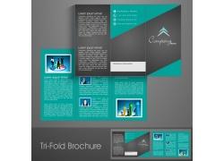 时尚商务折页设计图片