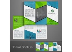 创意商务折页图片