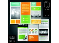 商务排版折页设计图片