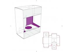 产品包装盒模板