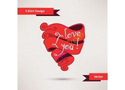 创意剪纸心脏图案
