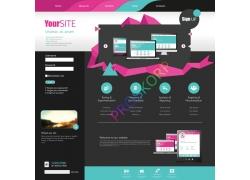 创意网站导航素材
