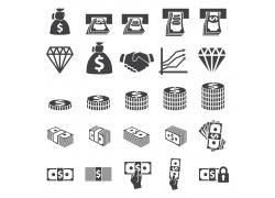 货币图标素材