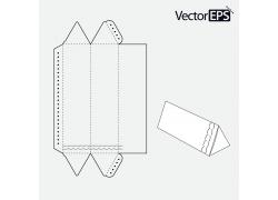 三角形包装盒