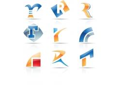 创意字母logo设计模板