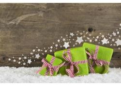 五角星与礼物